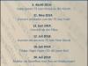 Programm2014 Flyer